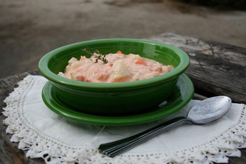 Sweet Potato Corn Chowder Recipe - Dirty Gourmet