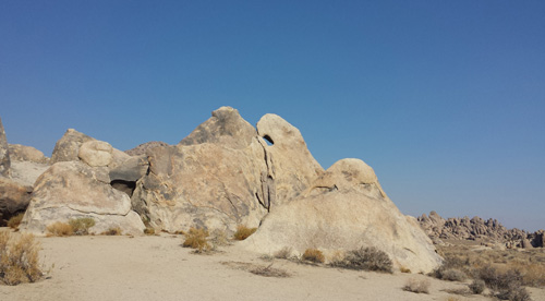Shark's Fin at Alabama Hills