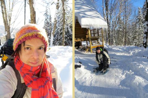 snowshoeing-overnight
