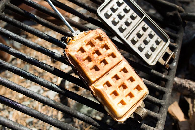 DirtyGourmet-campfire-cinnamon-roll-waffles2