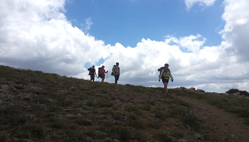 Hiking Mt Pinos